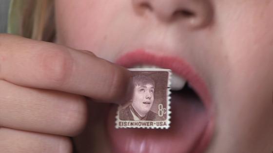 Still Schatz von Ringelnatz Briefmark